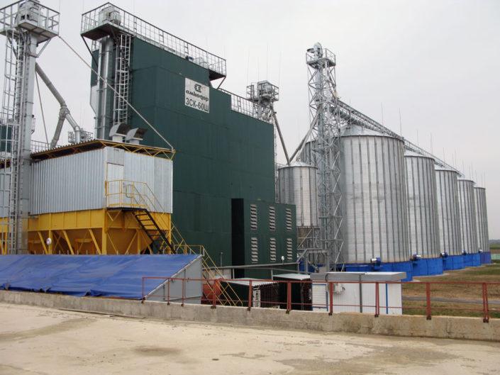 Зерносушильный комплекс 60