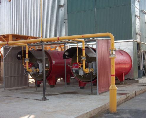 Воздухонагреватель смесительного типа